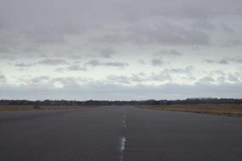 Landingsbannen på Flyvestation Værløse.