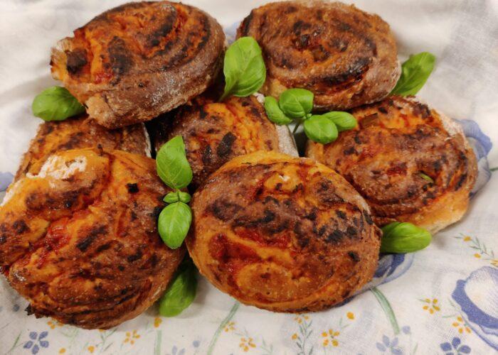 Pizzasnegle - Et festligt og lækkert indslag på en god tur. Udflugtsmad, blog, ildfugl.com